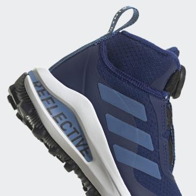 Děti Běh modrá Boty FortaRun Freelock All Terrain Running