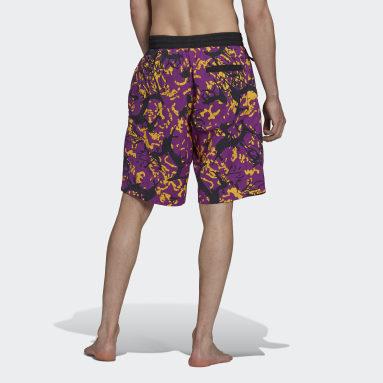 Men Originals Multicolor adidas Adventure Archive Printed Woven Shorts