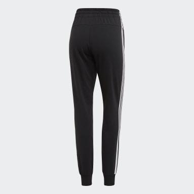 ผู้หญิง ไลฟ์สไตล์ สีดำ กางเกงขายาว Essentials 3-Stripes
