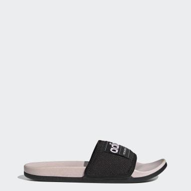Claquette Adilette Comfort noir Yoga