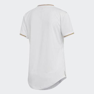 Camiseta de Local Real Madrid Blanco Mujer Fútbol