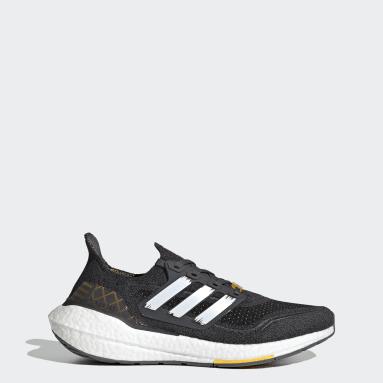 Men Running Grey Ultraboost 21 City Pack Shoes