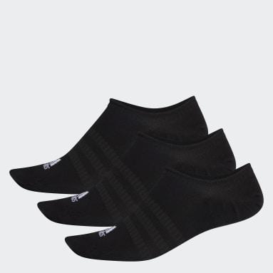 Socquettes invisibles (3 paires) Noir Tennis