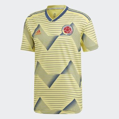 Camiseta Titular Oficial Selección Colombia Amarillo Hombre Fútbol