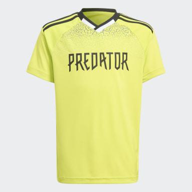 Maillot Predator Football-Inspired Jaune Garçons Fitness Et Training
