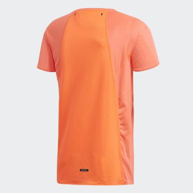 Playera para correr HEAT.RDY Naranja Hombre Running