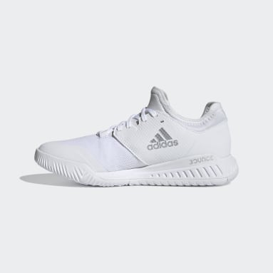 Women Table Tennis White Court Team Bounce Indoor Shoes