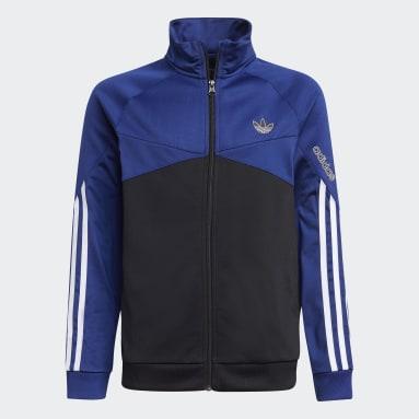 Chaqueta adidas SPRT Colorblock Azul Niño Originals
