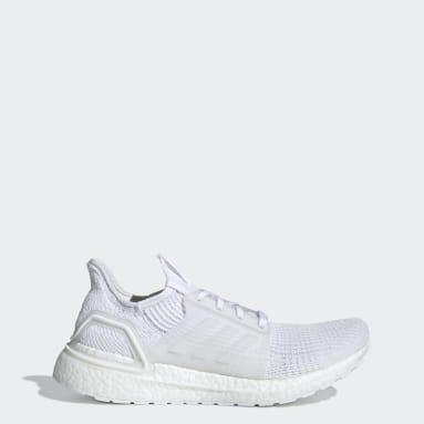 Men's Running White Ultraboost 19 Shoes