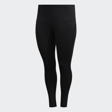 Dames HIIT Zwart Believe This Solid 7/8 Legging (Grote Maat)