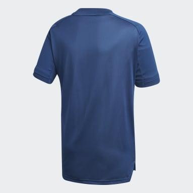 Kids Football Blue Olympique Lyonnais Training Jersey