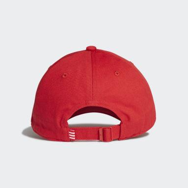 Originals Kırmızı Adicolor Dad Şapka