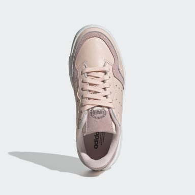 Youth 8-16 Years Originals Pink Supercourt Shoes