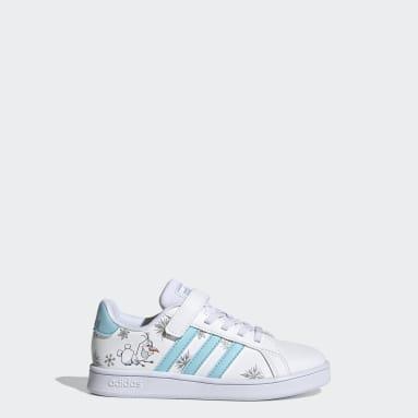 Children Essentials White Grand Court Shoes
