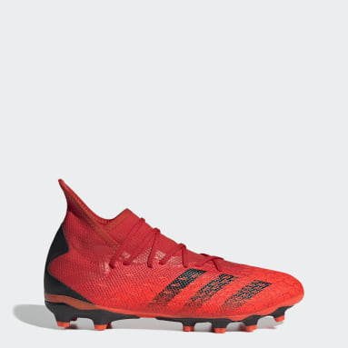 Fotbal červená PREDATOR FREAK .3 MG