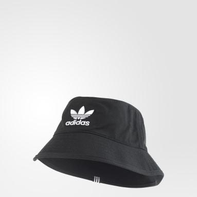 Originals Black Adicolor Bucket Hat