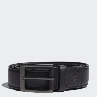 Men's Golf Black Stretch Belt