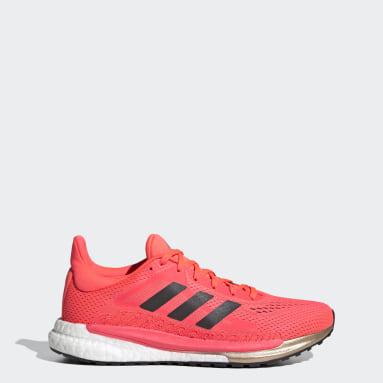Women Running Pink SolarGlide 3 Shoes