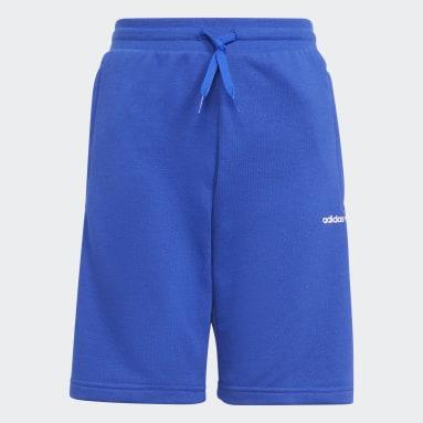 Short Adicolor Bleu Enfants Originals