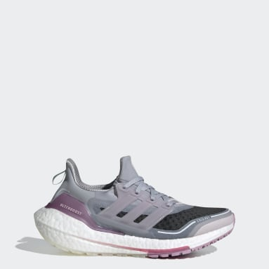 Women Running Grey Ultraboost 21 COLD.RDY Shoes