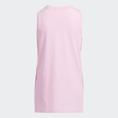Youth Training Pink Muscle Tank Top