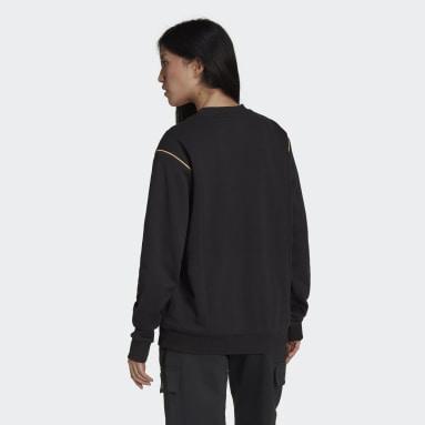 Frauen Originals Sweatshirt Schwarz