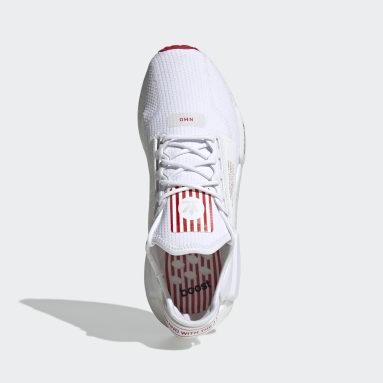 Men Originals White NMD_R1 V2 Shoes