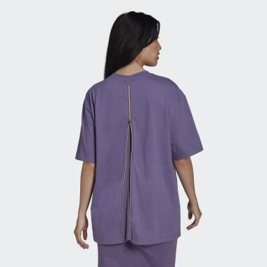 Kvinder Originals Lilla Short Sleeve T-shirt