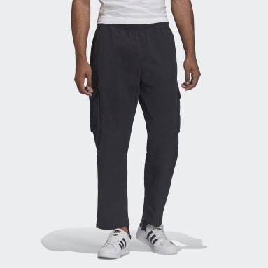 Men Originals Black Trefoil A33 Cargo Pants
