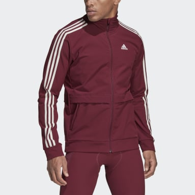 Men Cycling Burgundy The COLD.RDY Trackstand Cycling Jacket