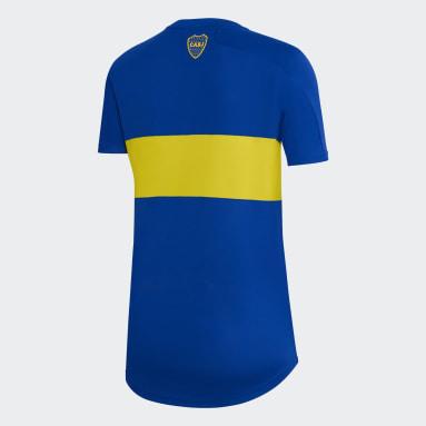 Camiseta Titular Boca Juniors 21/22 Azul Mujer Fútbol