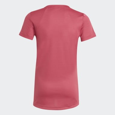 Youth 8-16 Years Gym & Training Pink HEAT.RDY T-Shirt