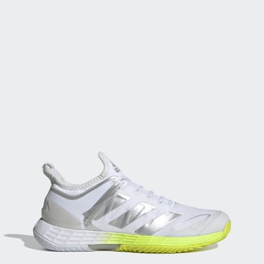 Women Tennis White Adizero Ubersonic 4 Tennis Shoes