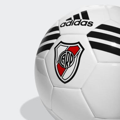 Minipelota River Plate Blanco Hombre Fútbol