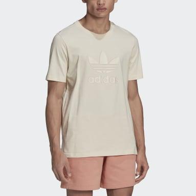 Men Originals White Graphics Trefoil Series T-Shirt