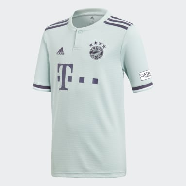 Jersey de Visitante FC Bayern Réplica (UNISEX) Verde Niño Fútbol