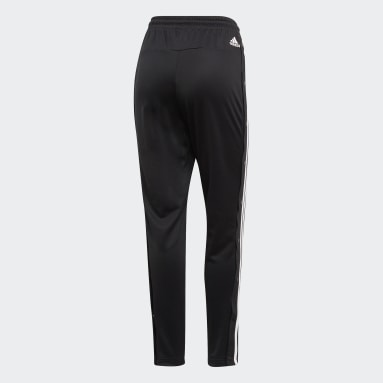 Frauen Sportswear ID 3-Streifen Snap Hose Schwarz