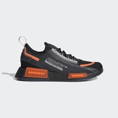 Men Originals Black NMD_R1 Spectoo Shoes