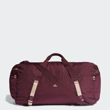 Women Studio Burgundy Sport Duffel Bag
