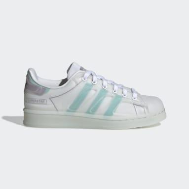 Youth 8-16 Years Originals White Superstar Futureshell Shoes