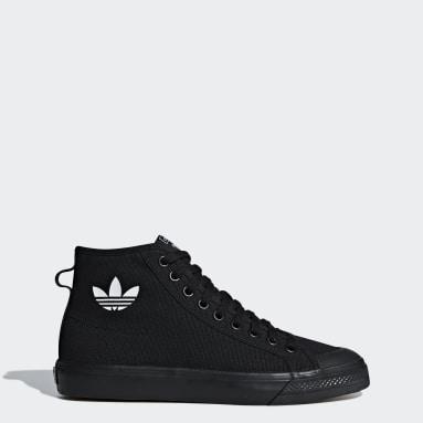 Heren Originals Zwart Nizza High Top Schoenen