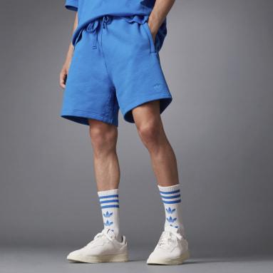 Muži Originals modrá Šortky Blue Version Essentials