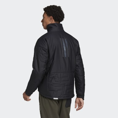 Men's Hiking Black Terrex MYSHELTER PrimaLoft Parley Padded Jacket