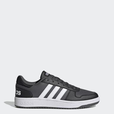Sapatos Hoops 2.0 Preto Basquetebol