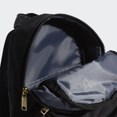 Women's Training Black Linear Mini Backpack