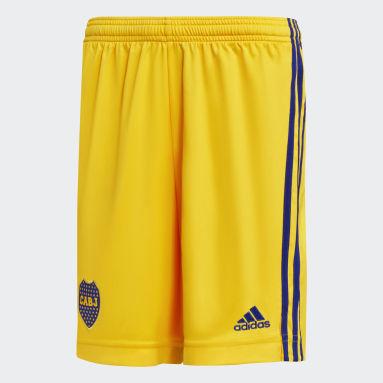 Shorts Tercer Uniforme Boca Juniors 20/21 Dorado Niño Fútbol