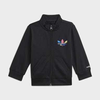 Infant Originals Black Adicolor Track Suit