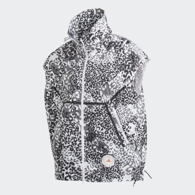 Gilet TruePace WIND.RDY Bianco Donna adidas by Stella McCartney