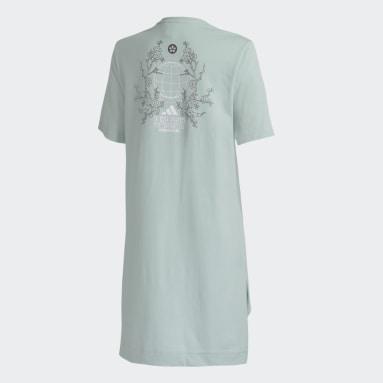 Camiseta Longa ID Verde Mulher Sportswear