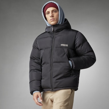 Men Originals Black adidas Adventure Down Puffer Jacket